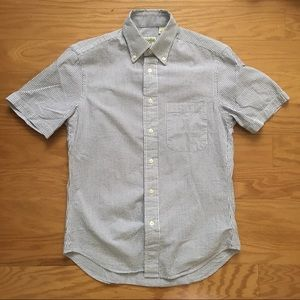 Gitman Bros. Seersucker Short Sleeve Button down